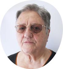 Gilberte LEVY, candidate de la liste Bédoin en transition