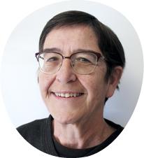 Martine LACOSTE GUIRAUTE, candidate de la liste Bédoin en transition